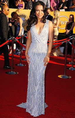 Naya Rivera - Naeem Khan gown