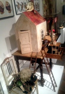 Characters and sets from Švankmajer's Alice