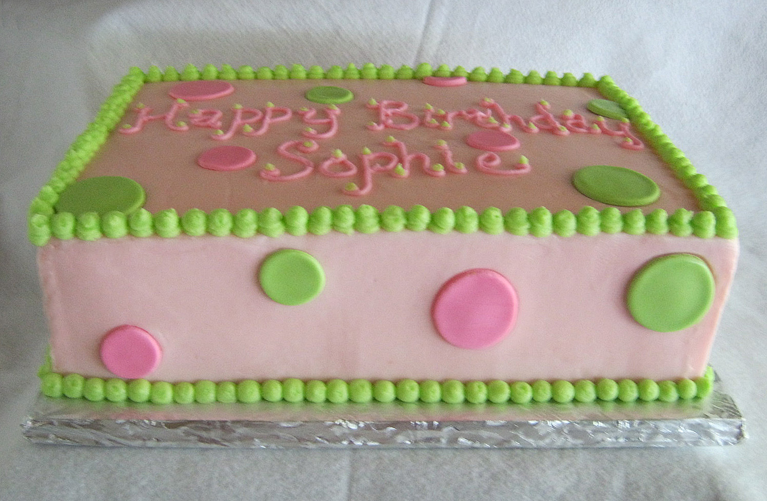 Baby Shower Sheet Cake | This As One Cake That Was The Little Girl S Smash  Cake That She Got To ... | Cakes, Cupcakes, Etc. | Pinterest | Baby Shower  Sheet ...