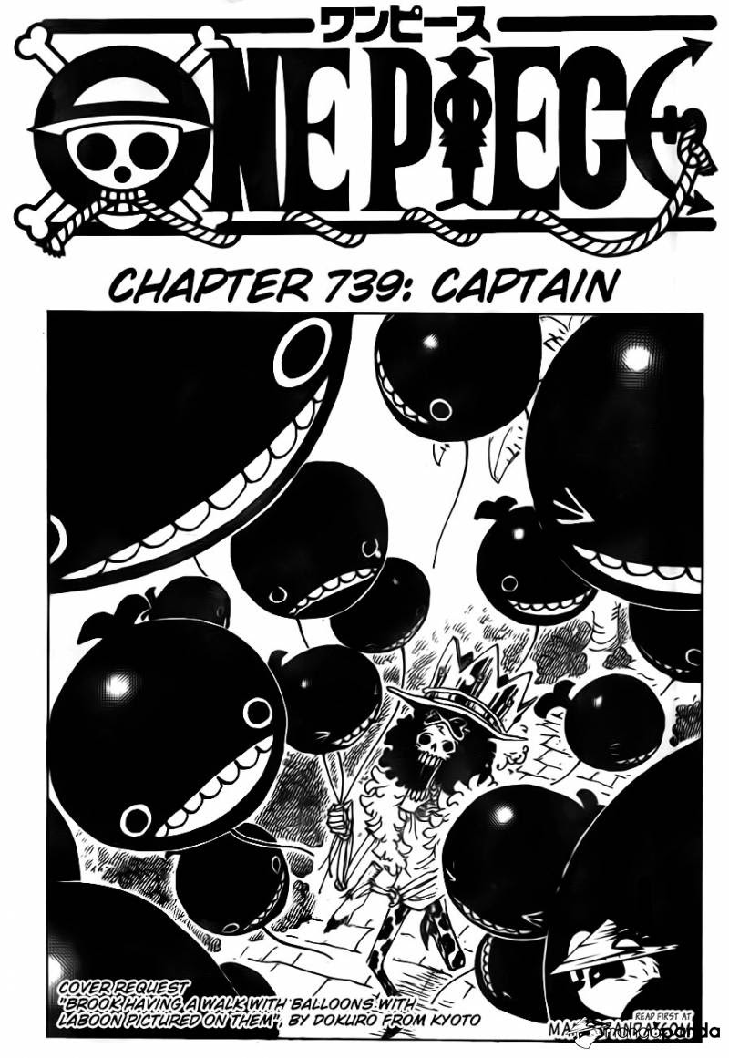 One Piece - Đảo Hải Tặc chap 739 page 3 - IZTruyenTranh.com