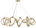 Adjustable Brass Chandelier