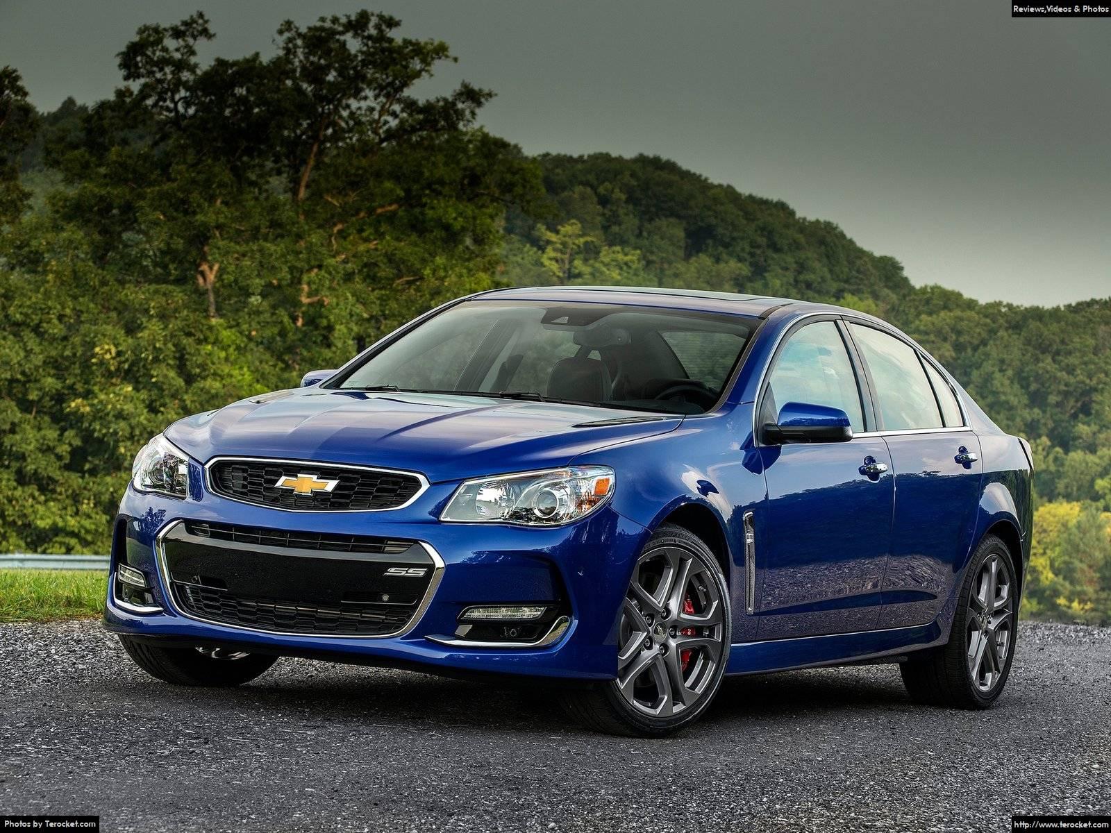 Hình ảnh xe ô tô Chevrolet SS 2016 & nội ngoại thất