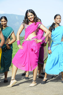 Anushka Shetty South Queen Spicy Navel Item Dance Pictures