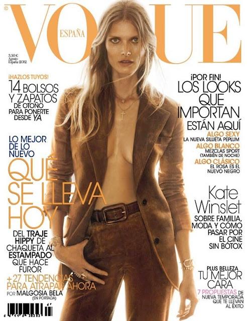 lucia gallego blog: Vogue Agosto