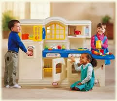 Mommyslove4baby143 Little Tikes Country Victorian Kitchen W Sizzling Sounds Lights Like New 9 999p Sold