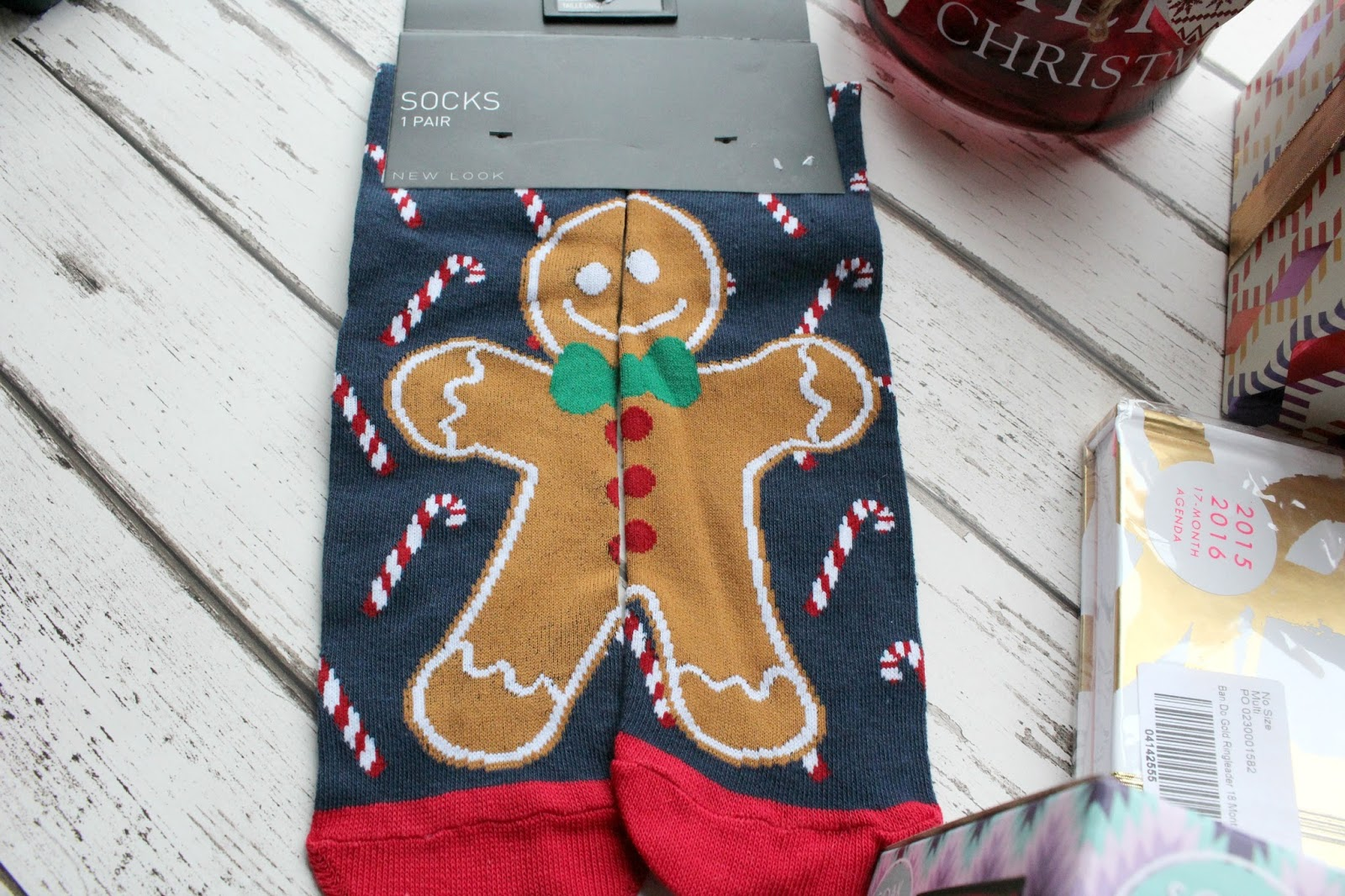 Gingerbread-socks