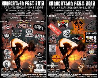 Xonacatlan Fest 2012 Festival Punk y Skin
