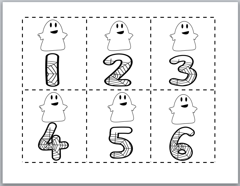 Learning Ideas - Grades K-8: Friendly Ghost Odd and Even Sort and ...