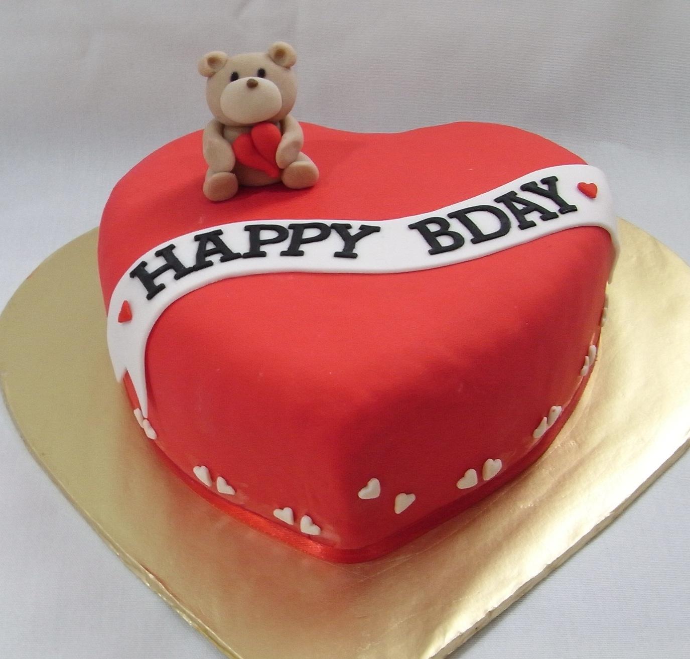Teddy Bears Birthday Cakes - Bear birthday cake