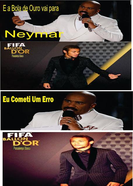 neymar ganha bola de ouro por steve harveys