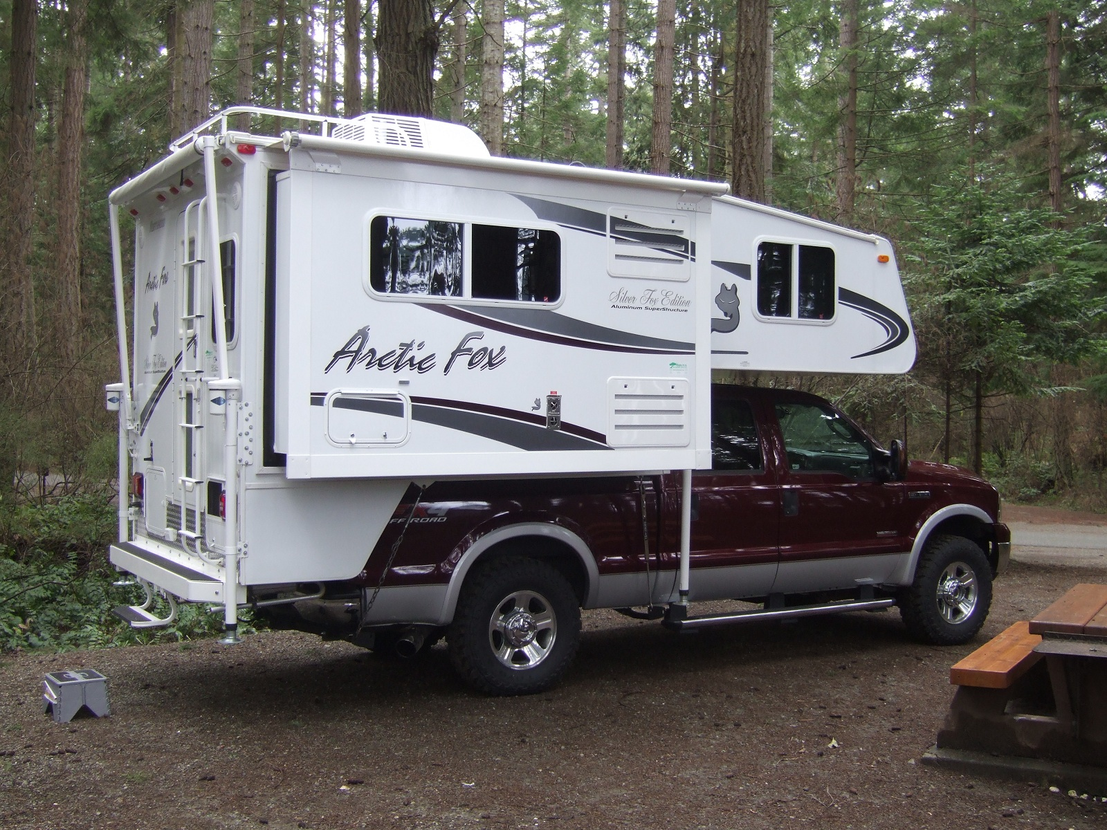 I think an ambulance would make a decent camper ...