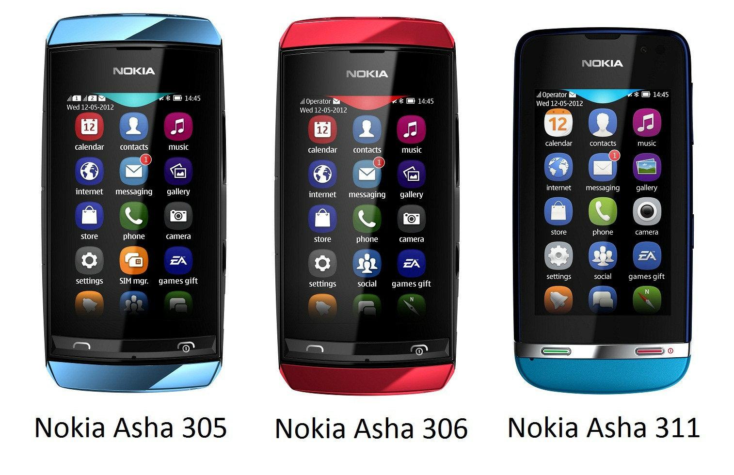 Harga Nokia Asha Terbaru Desember 2012