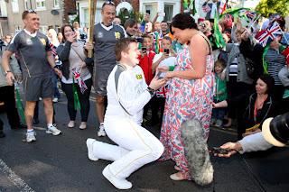 proposta di matrimonio alle olimpiadi