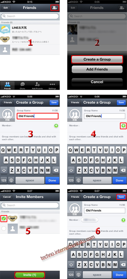 Create Group Line