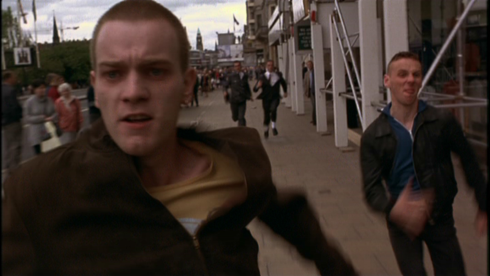 a description of trainspotting as a drop dead look at a dead end lifestyle Start studying bioexam3 which of the following biomes is correctly paired with the description a chameleon that changes its color to look like a dead.