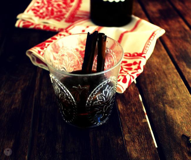 Glühwein vino caliente especiado alemán 002