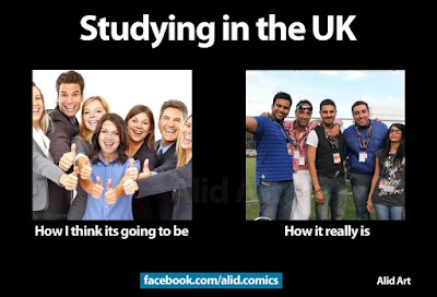 studying in london