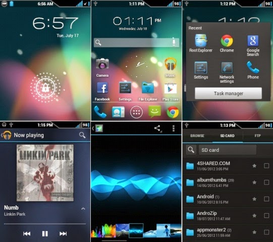 Jelly Blast Next2ICS ROM v2.0 for Galaxy Y