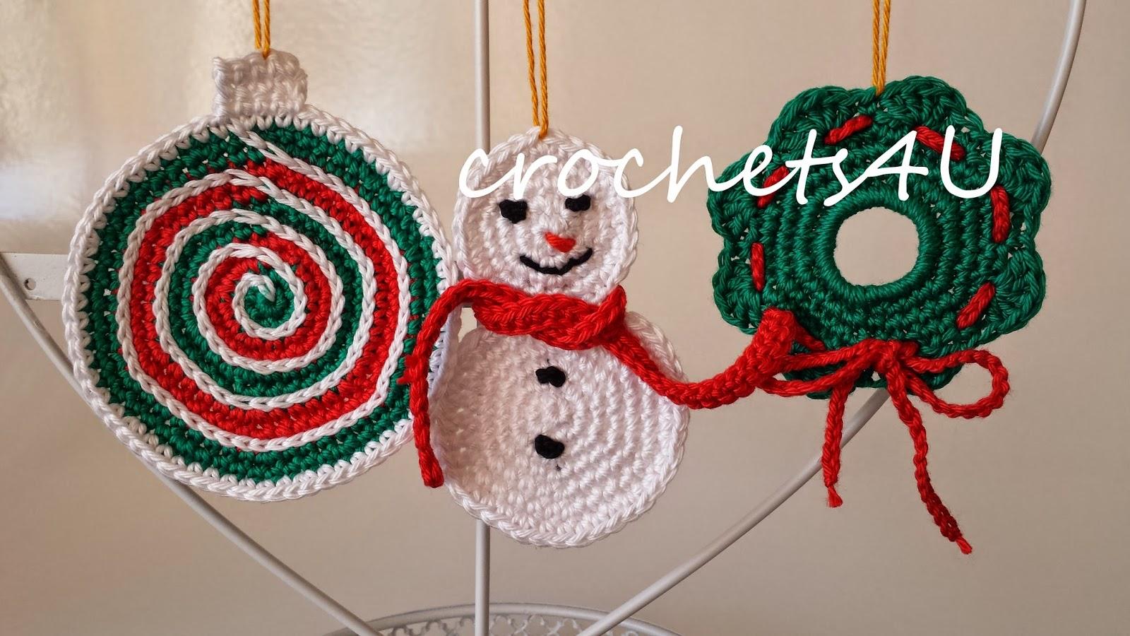 crochet patterns christmas