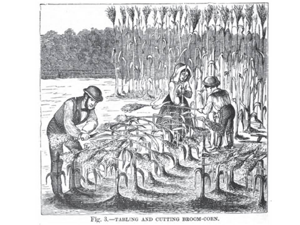 Stitches Thru Time: Brooms to Sweep Away Troubles