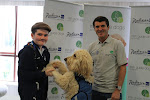 Roy Keane meeting Clive & Murray at the SHADES 2012 launch in aid of Irish Guide Dogs ....