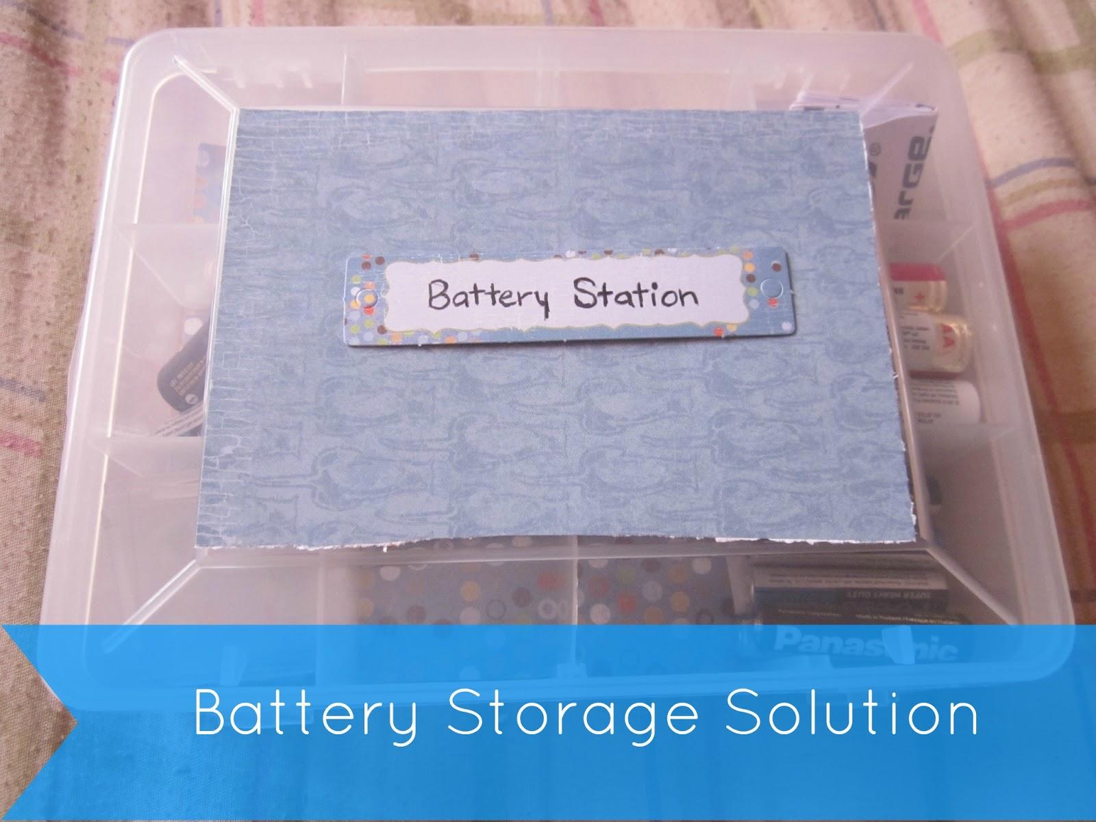 diy battery storage