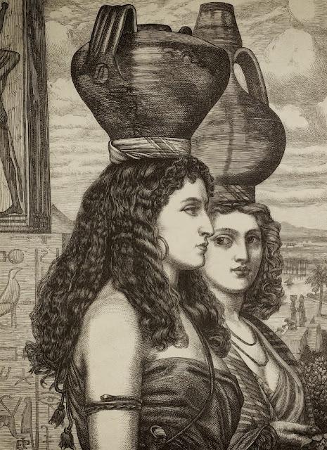 Edward Poynter,slaves,lithograph