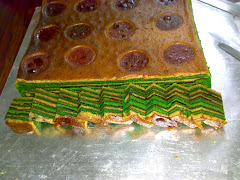 baked masam manis layer