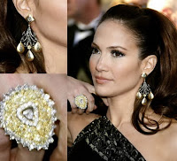Yellow Diamond: Jewelry Jennifer Lopez