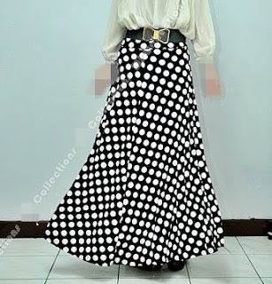 Skirt Labuh 670dot Dark Blue