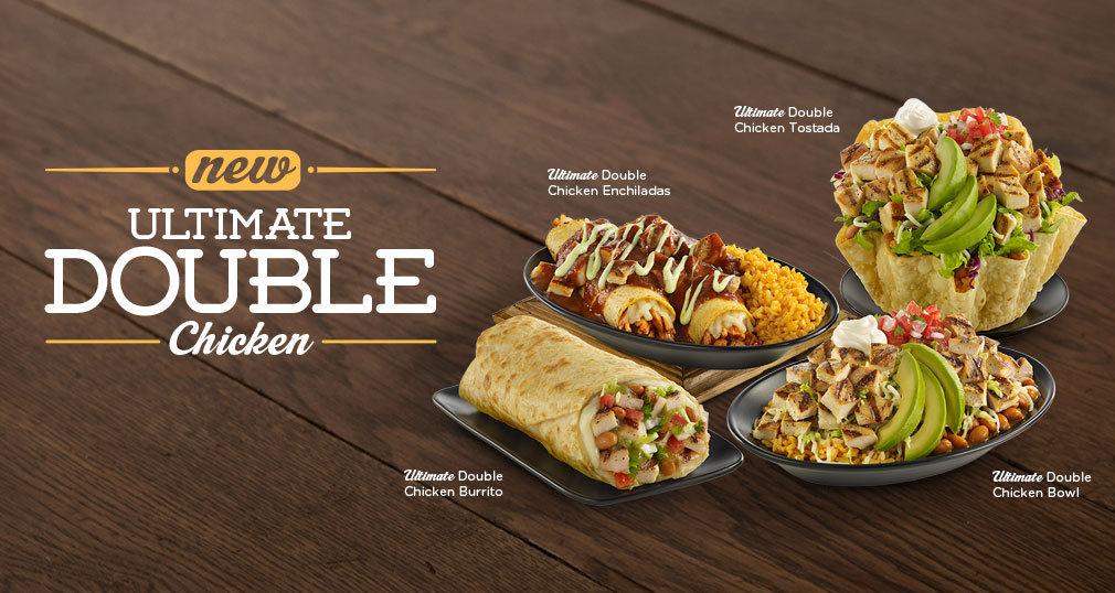 News: El Pollo Loco - New Ultimate Double Chicken Menu ...