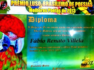 PREMIO LUSO-BRASILEIRO - MELHORES POETAS de 2012 e 2013