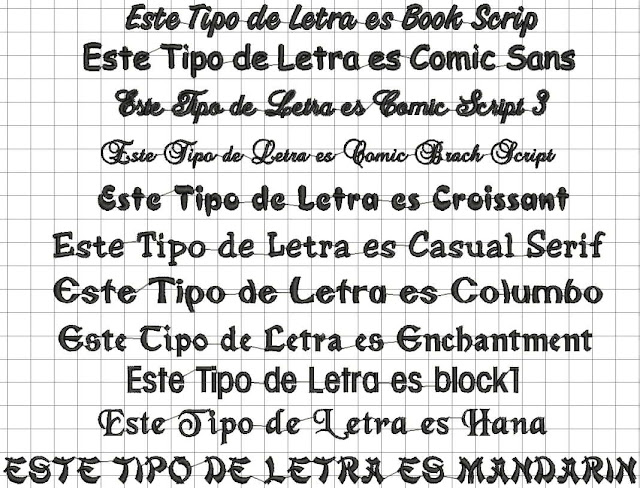 Ideas sencillas de espa ol for Fuentes de letras antiguas