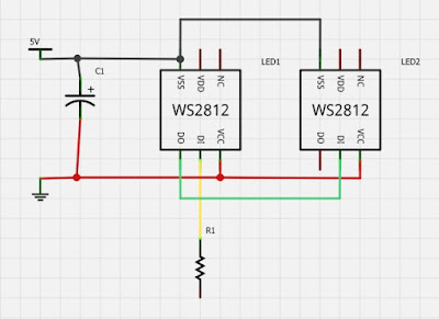 Neofritz02a Neopixel Schematic on led ring, raspberry pi, ws2812b arduino pinout, nano biscotte v4, arduino nano,