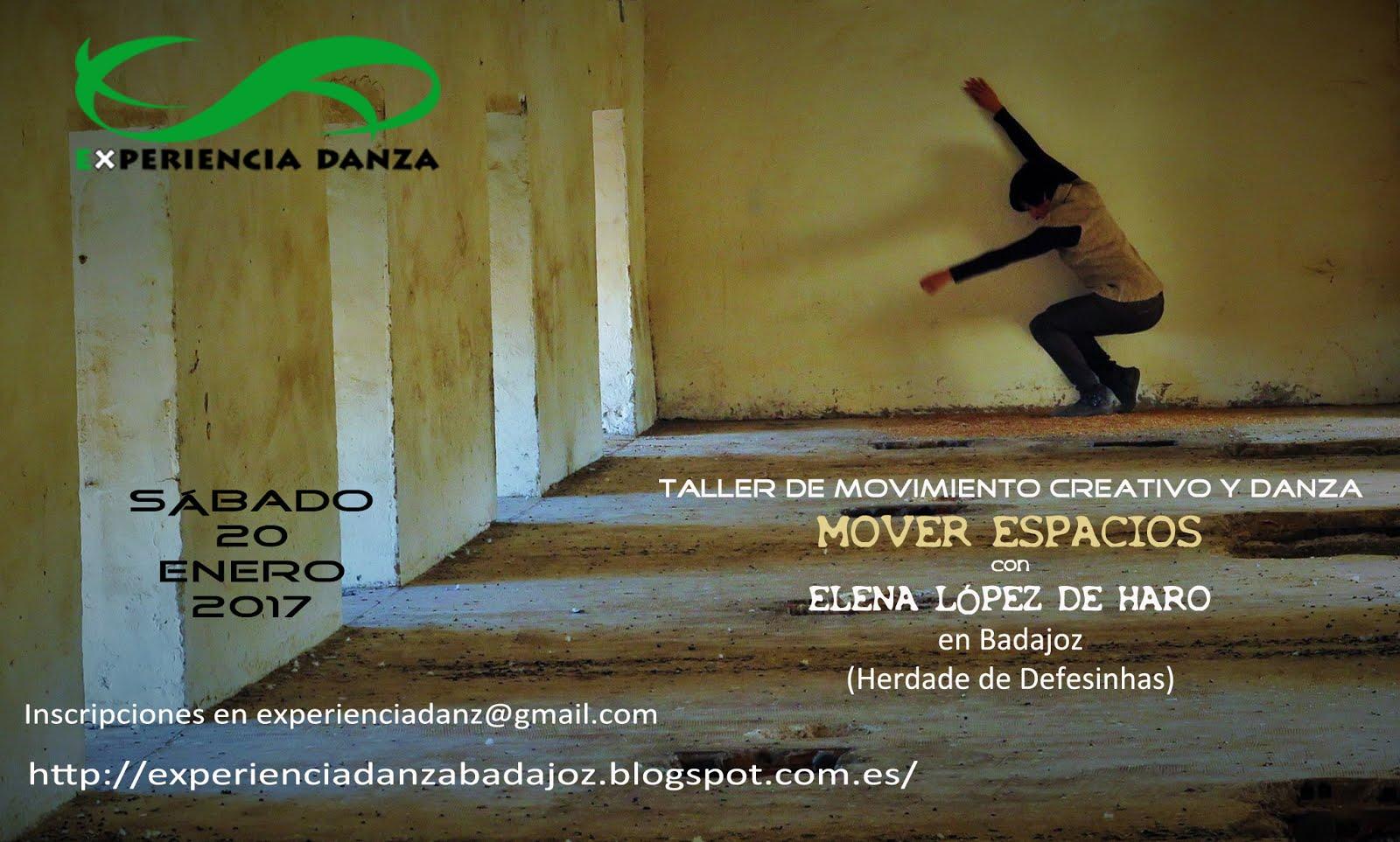 Taller MOVER ESPACIOS con Elena L.Haro