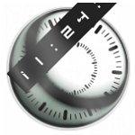 秒針が滑らかに動く時計ブログパーツ