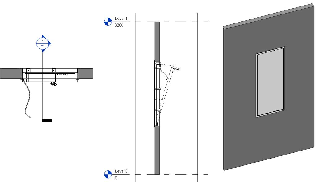 Revit Sticky Notes 2d Symbolic Line Show Only If Instance Is Cut