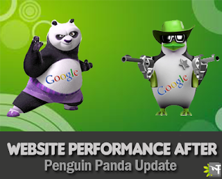 Website performance after Panda and Penguin Update