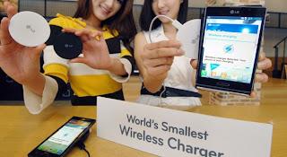 Lg Perkenalkan Wireless Charger Terkecil Di Dunia