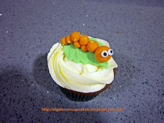 cupcakes gusanito