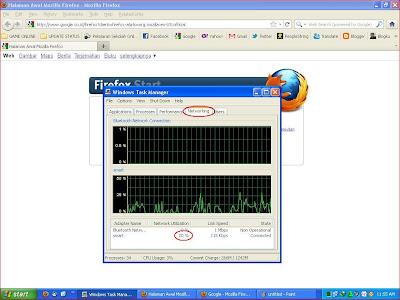 cara check koneksi internet
