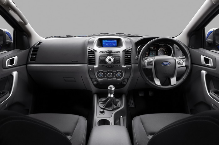 2011 Ford Ranger Pickup Truck Interior