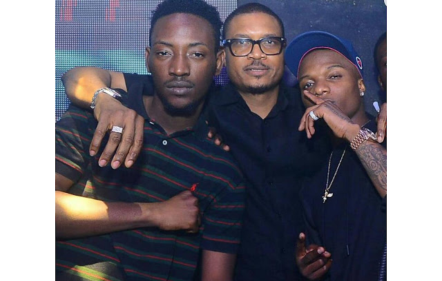 2face Shares Picture Of Reconciled Wizkid And Dammy Krane After Quilox Nightclub Bust-up