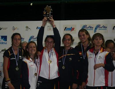 España Campeona del Mundo de menores de Padel 2011