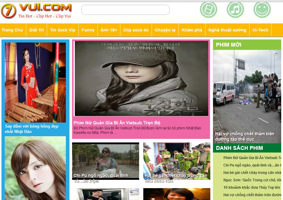 Template Tin Tức Cho Blogspot, Theme Blogger Tin Tức Đẹp Giống 7vui.com