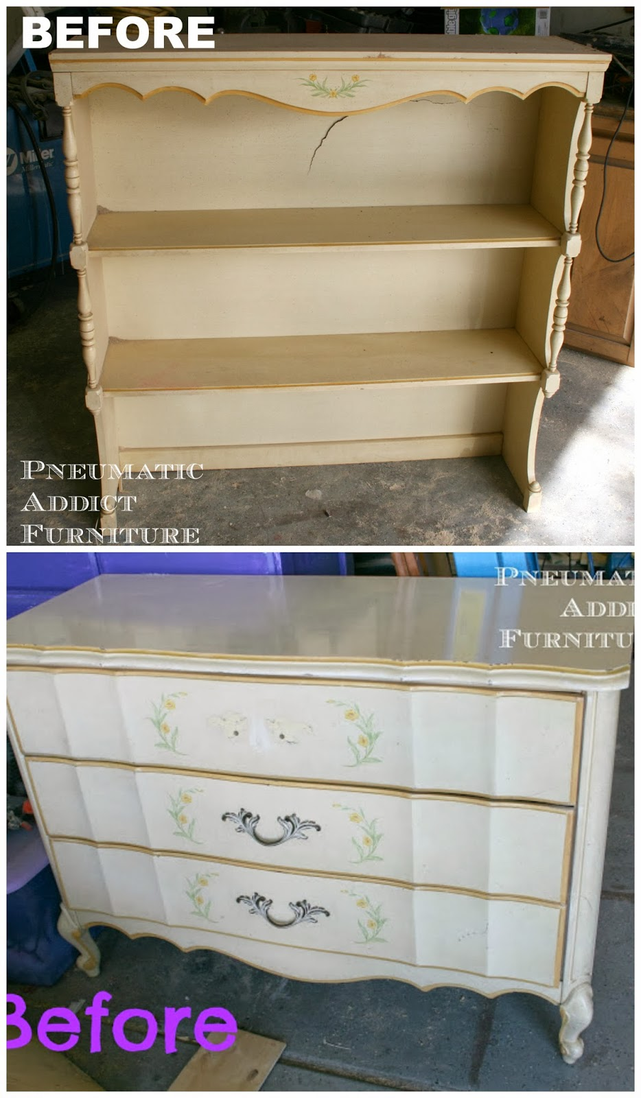 What To Do With An Old Dresser Hutch Pneumatic Addict