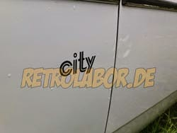 Opel Kadett C CITY decals