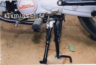 Prevent bike accidents-sidestandlock-gear lock for bike