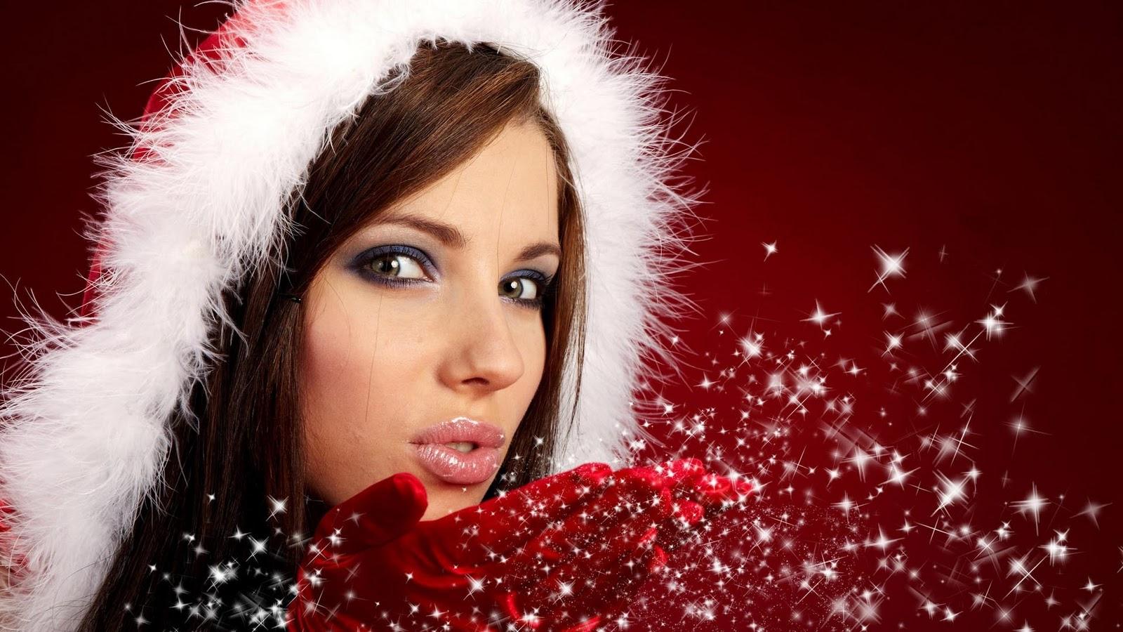 Christmas desktop sexy wallpaper