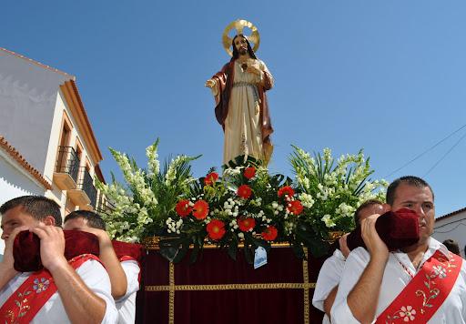 Sagrado   Corazon de Jesus...Montes de San Benito¡¡¡ Huelva